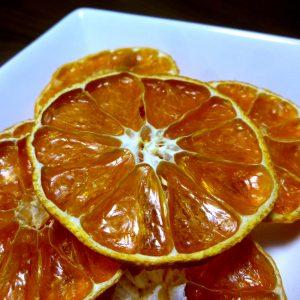 蜜柑のドライフルーツ