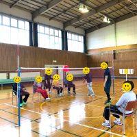 風船バレーボール教室